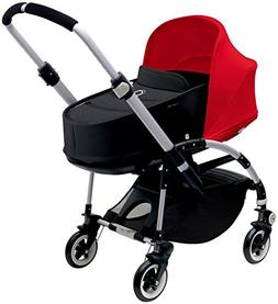 Bugaboo Bee3 Bassinet & Sun Canopy - Red - Black