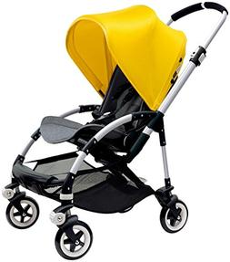 Bugaboo Bee3 Stroller - Bright Yellow - Grey Melange - Alumi