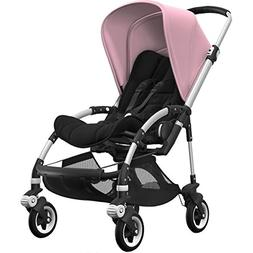 Bugaboo Bee5 Stroller Bundle with Aluminum Base, Soft Pink C
