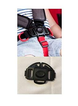 Black Buckle Clip Safety Harness Replacement Part for Baby,
