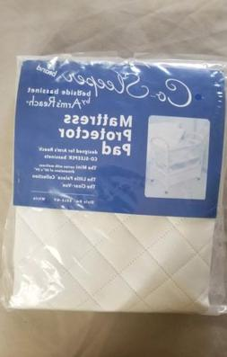 Brand New Co Sleeper Mattress Protector Pad Arms reach Bassi