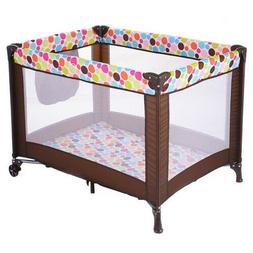 Brand New Playard Baby Bassinet Travel Portable Bed Playpen