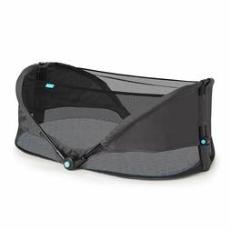 brica fold n go travel bassinet