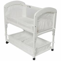 Arm's Reach Cambria Co-Sleeper Bassinet, Quilted Poly Withou