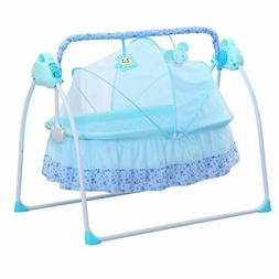 CBBAY Electric Cradle Baby Swing Bed Automatic Rocking Baske