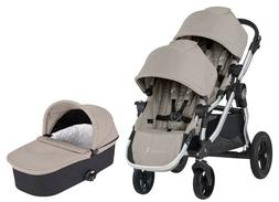 Baby Jogger City Select Twin Double Stroller Paloma w Second