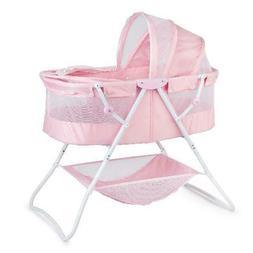 Classic Baby Moses Basket Portable Sleeper Crib Bed Cradle E