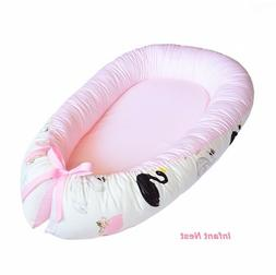 Cotton Baby Nest Sleeper Lounger for Girl Infant Nest Bed Do