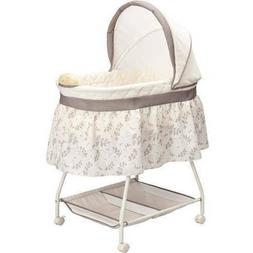 Delta Children Deluxe Sweet Beginnings Bassinet, Falling Lea
