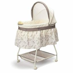 Delta Children Deluxe Sweet Beginnings Bedside Bassinet - Po