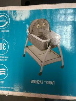 Graco  Dream Suite Bassinet 2 Speed Vibration Storage Basket