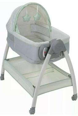 Graco Dream Suite Infant Bassinet Newborn Changer Locking Wh