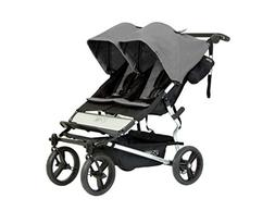 Mountain Buggy Duet 2016 Double Stroller, Flint