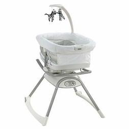 Graco Duet Glide LX Gliding Swing with Portable Sleeper, Zag