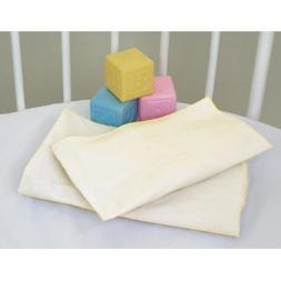 Badger Basket Ecru Oval Fitted Bassinet Sheets for Oval Elit