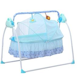 KANING Electric Big Auto-Swing Bed Baby Cradle Space Safe Cr