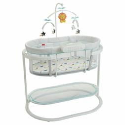 Fisher-Price Baby Infant Soothing Motions Bassinet Windmill