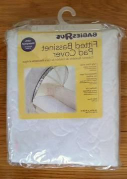 """Fitted Bassinet Pad Cover by Babies R Us, Waterproof, 16.25"""""""