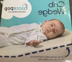 FOLDABLE Safe Lift Universal Crib Wedge for Baby Mattress an