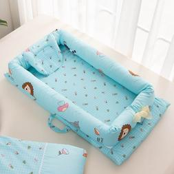 Foldable Sleeping Crib Bed Portable Crib <font><b>Bassinet</