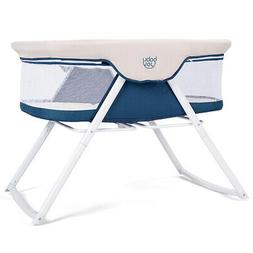 Foldaway Baby Bassinet Crib Newborn Rocking Sleeper Traveler