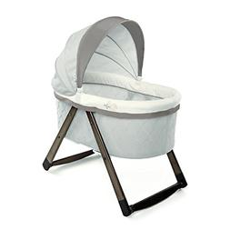 foldaway rocking wood bassinet carrington