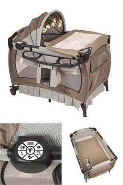 Home Nursery Center Deluxe Removable Full Bassinet Canopy Pa