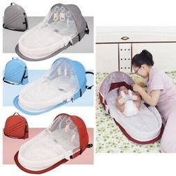 Foldable Baby Mosquito Net Canopy Bed Summer Travel Cot Tent
