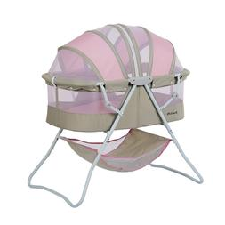 Dream On Me Karley Bassinet, Grey/Pink