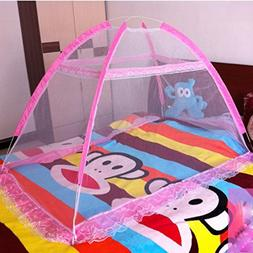 Baby Crib Tent for Bed, Portable Mosquito Net for Toddler Tr