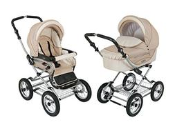 Roan Kortina Pram Stroller 2-in-1 with Bassinet and Seat - S