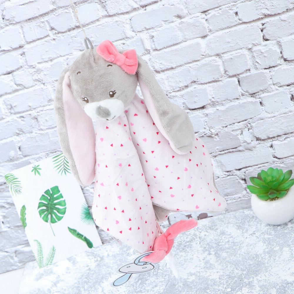 Rabbit Pacifier Towel for Toddlers