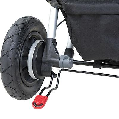 Mountain Buggy 2017 Duet Double Stroller Grid Shipping