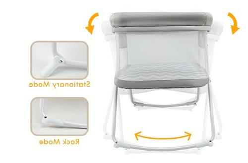 2in1 Rocking Fold Travel Portable Newborn