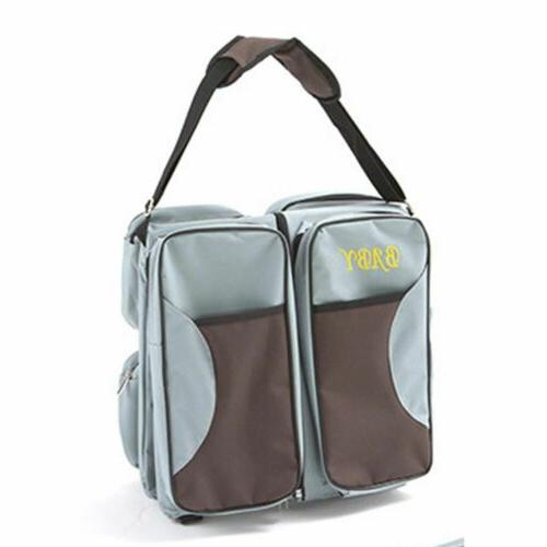 3in Foldable Diaper Tote Bed Bassinet Changing Station