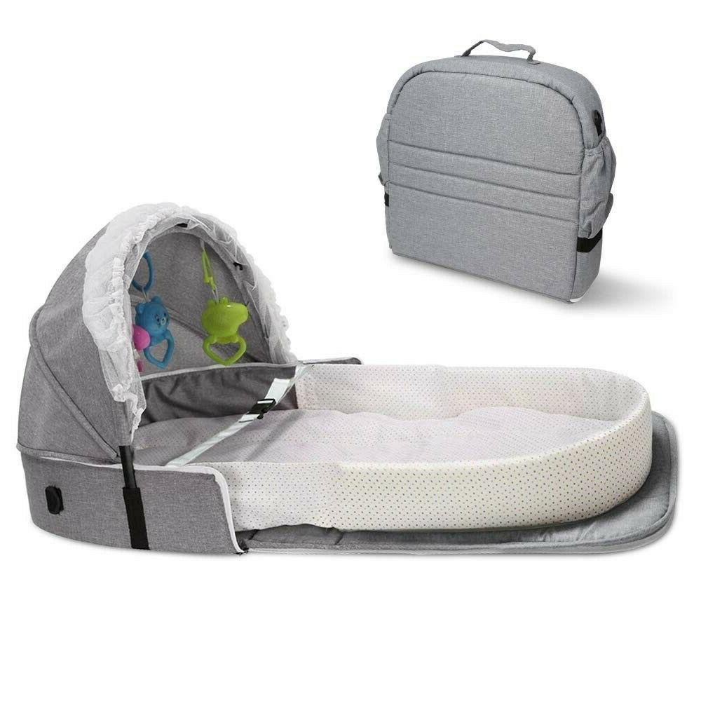 4 in 1 fordable baby bed infant