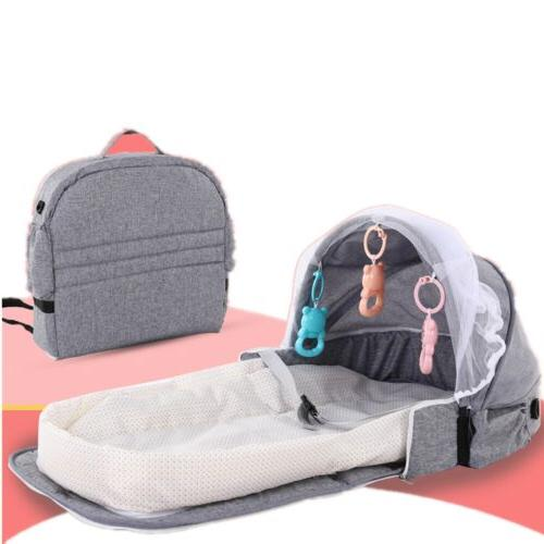 4 in 1 foldable baby bed lounger