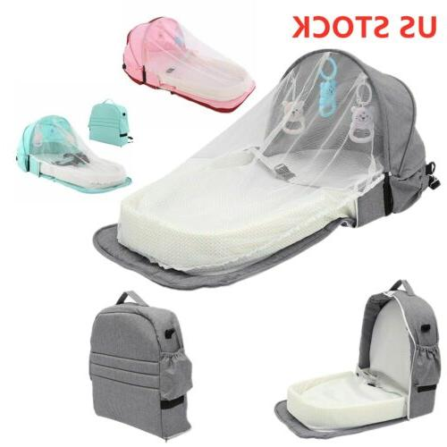4 1 Baby Bed Travel Crib 0-2 Infant Cot