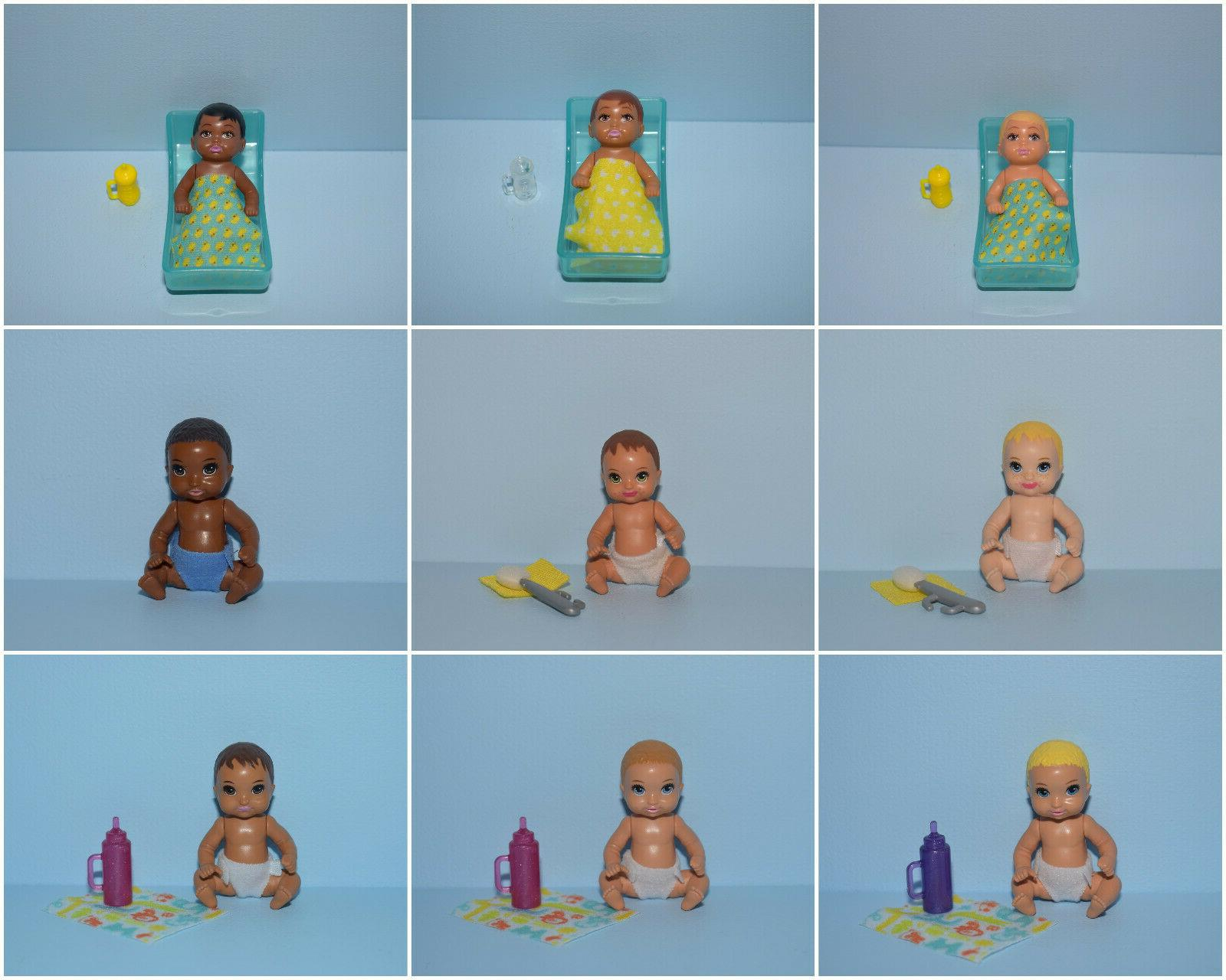 assorted lot of little baby babies w