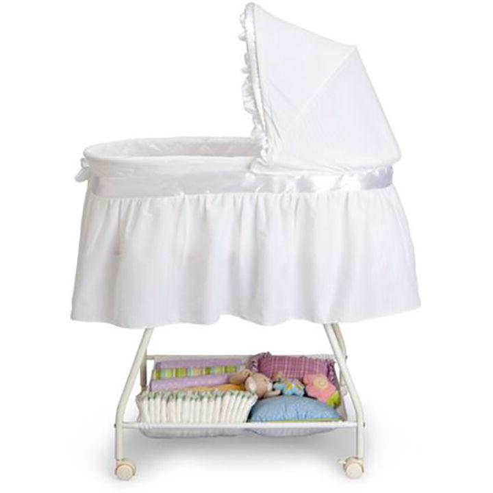 Baby Bassinet Nursery Cradle Infant Crib Travel Bed