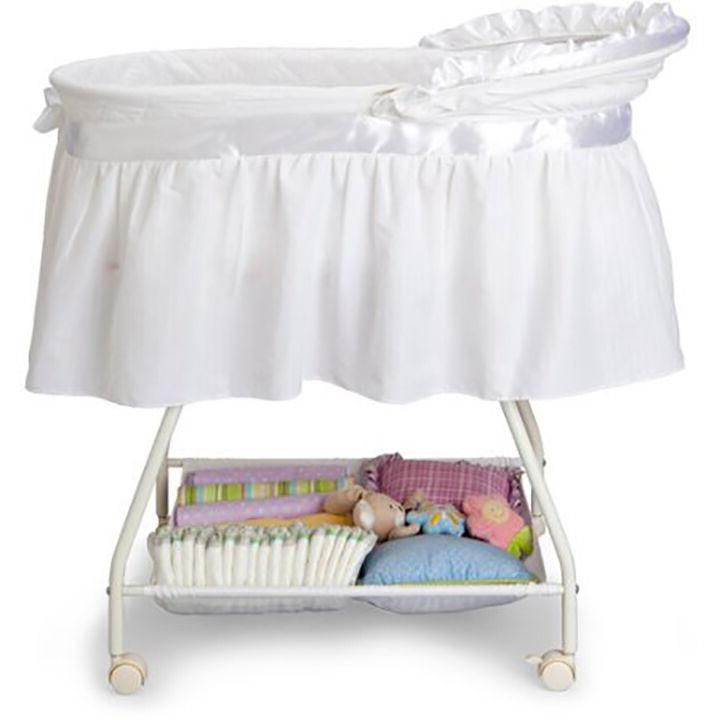 Baby Cradle Infant Basket Crib Travel Bed