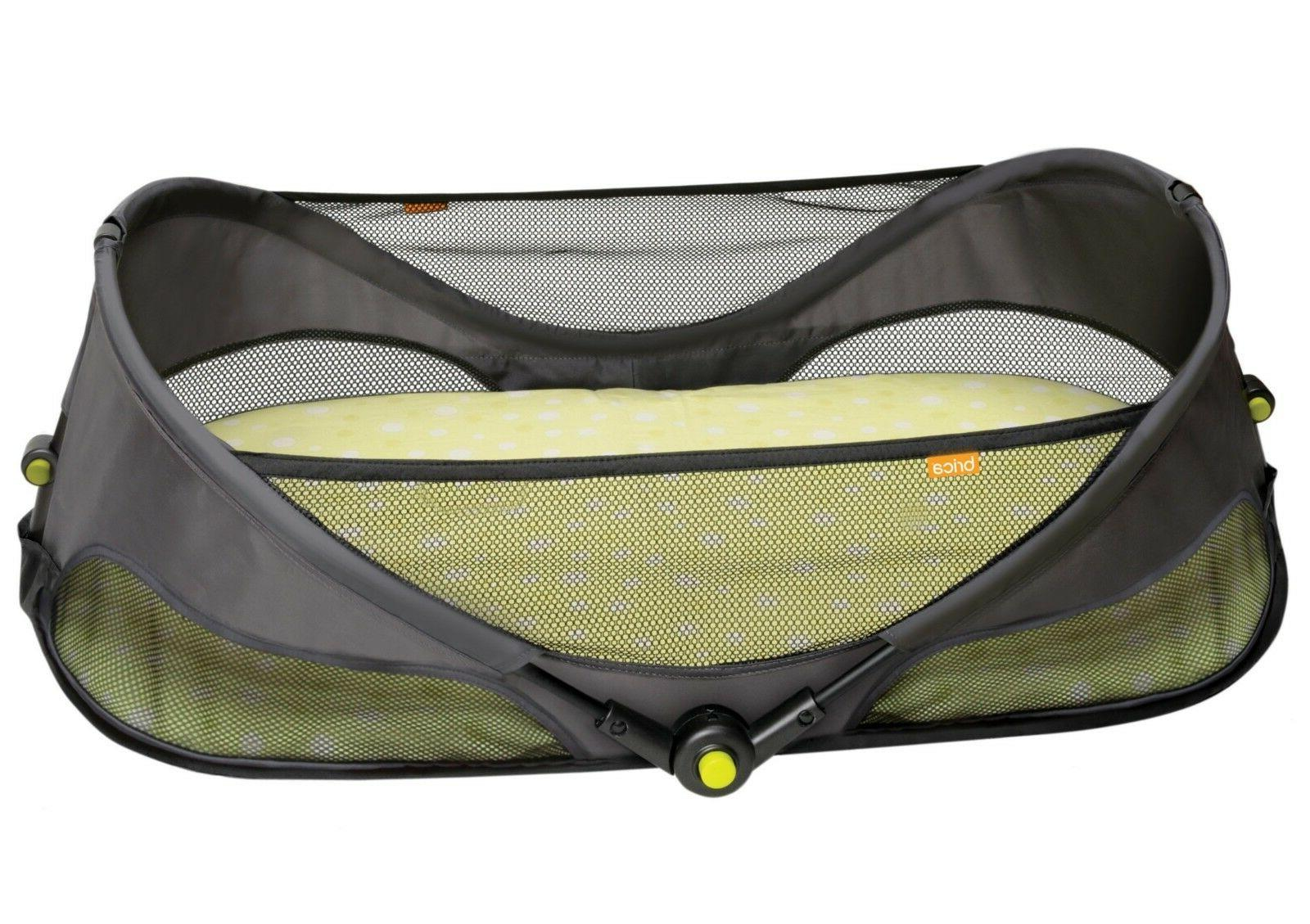 Baby Travel Bed Canopy Mosquito Net Tent Fold Go Bassinet In