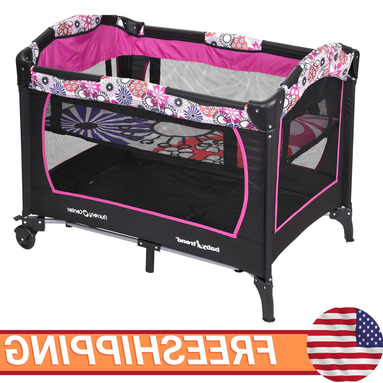 Baby Playard Infant Cradle Bassinet