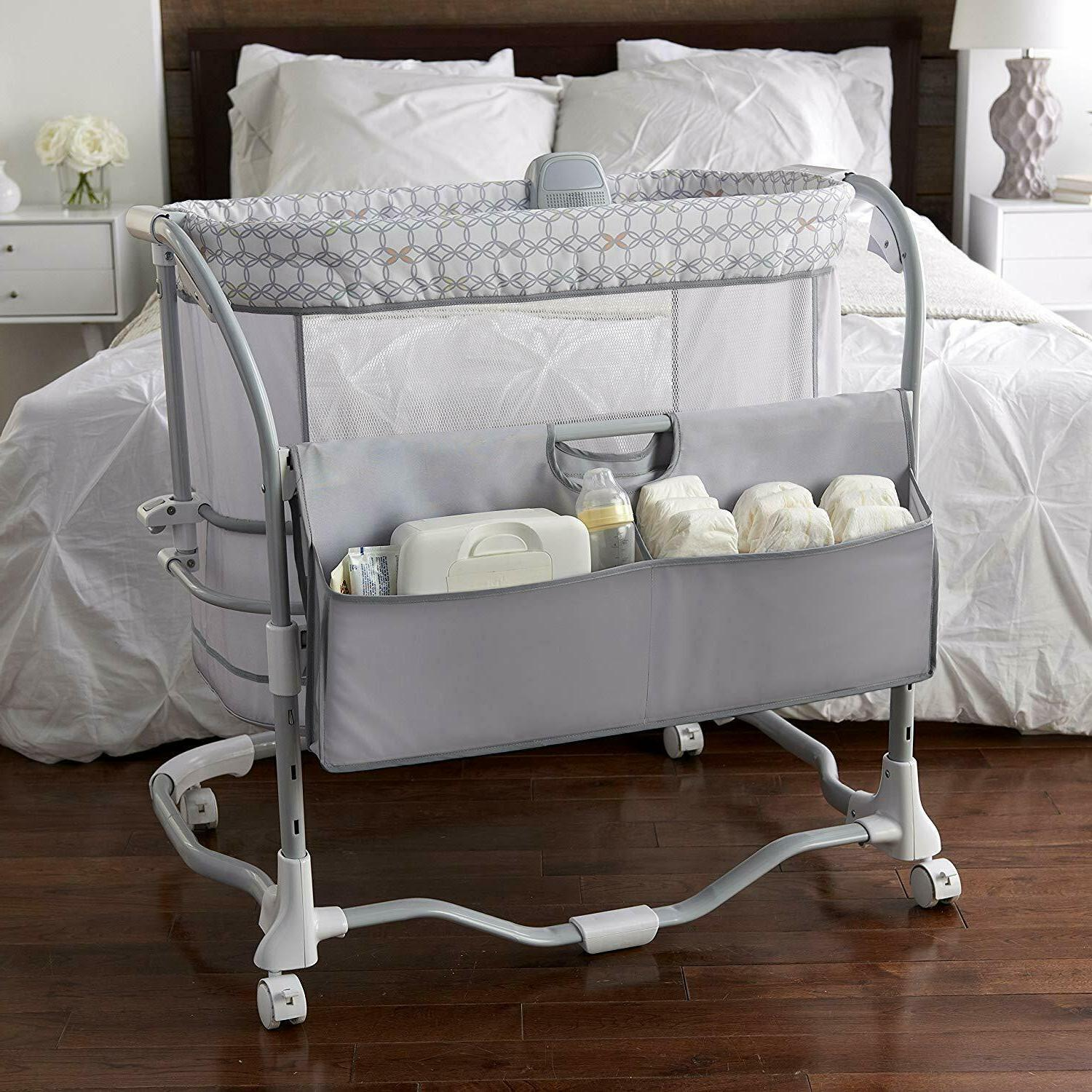 Baby Bassinet Furniture Bed Lullaby