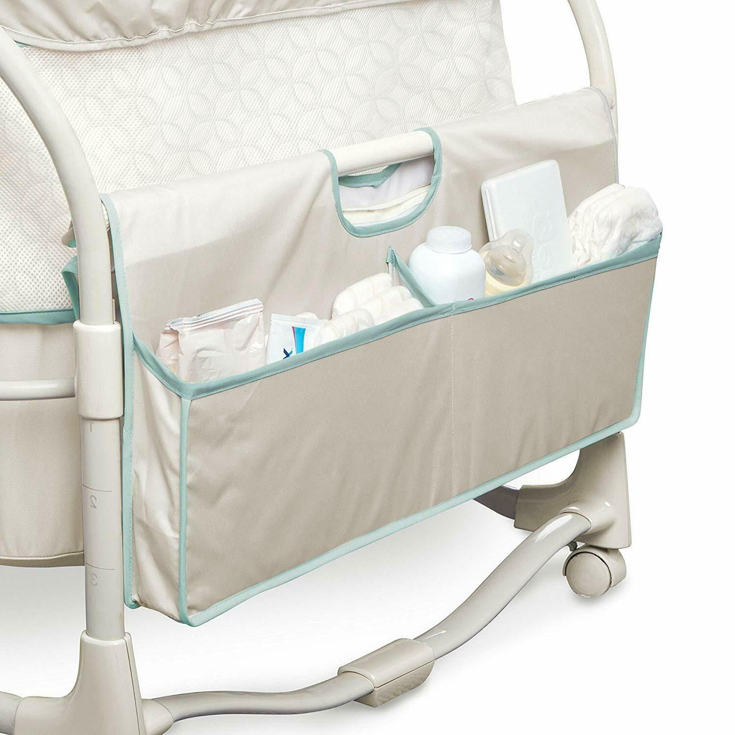 Baby Infant Cradle Portable Furniture Bed Lullaby