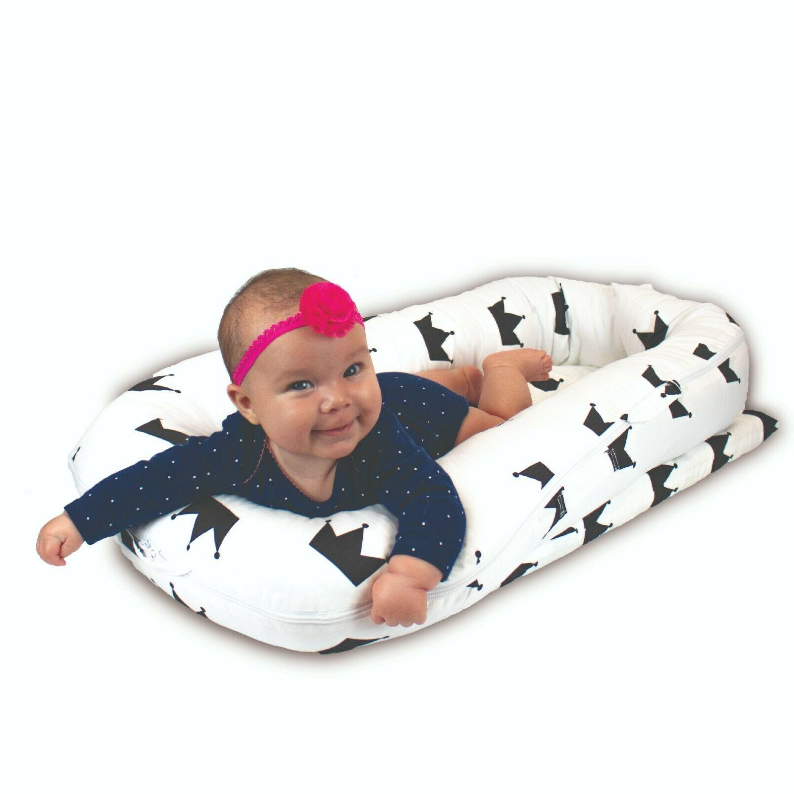 Baby Lounger Nest, Comfortable Sturdy Bed, Infants