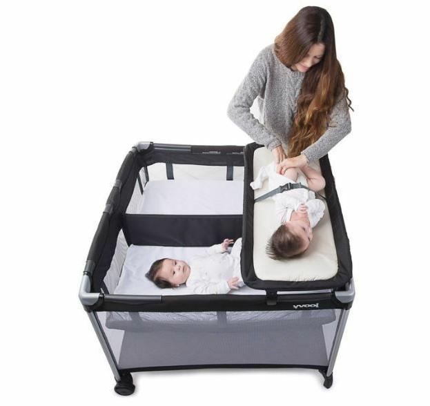 baby playard accessory changing table twin nursery