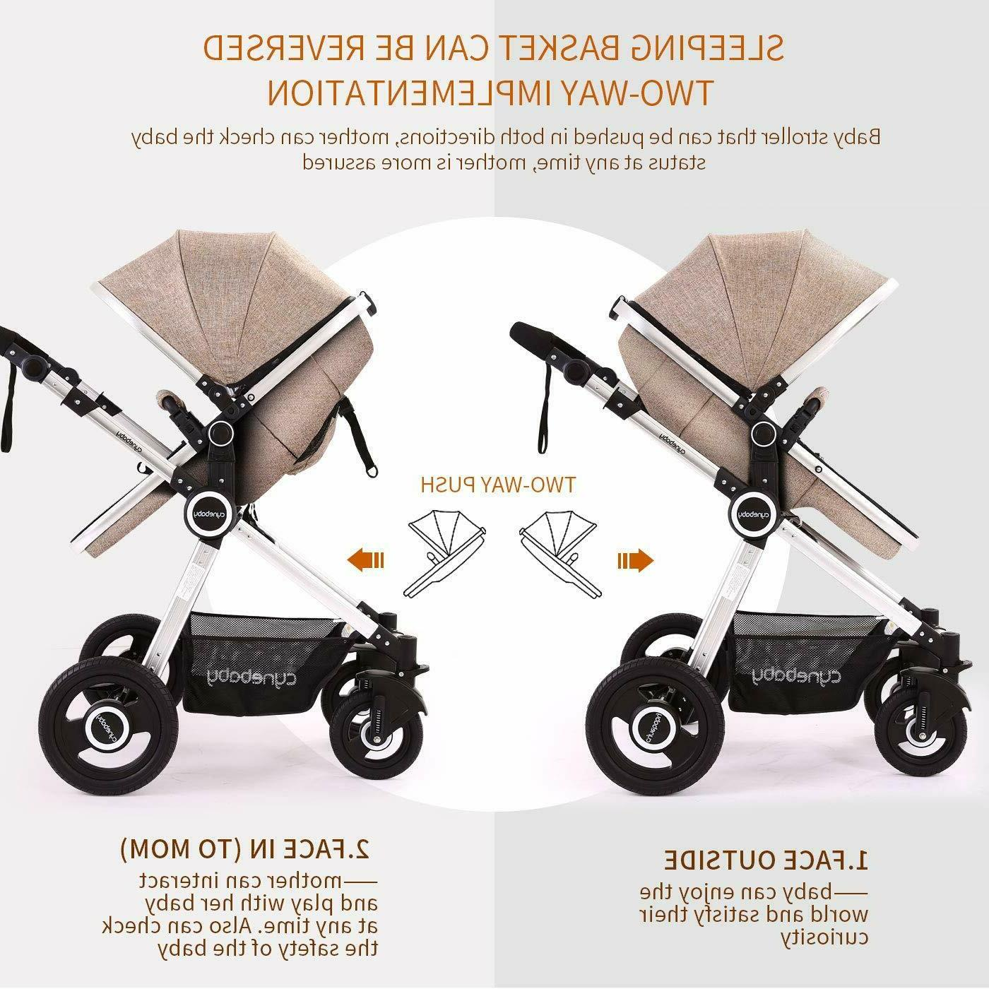 Cynebaby Stroller in Carriage
