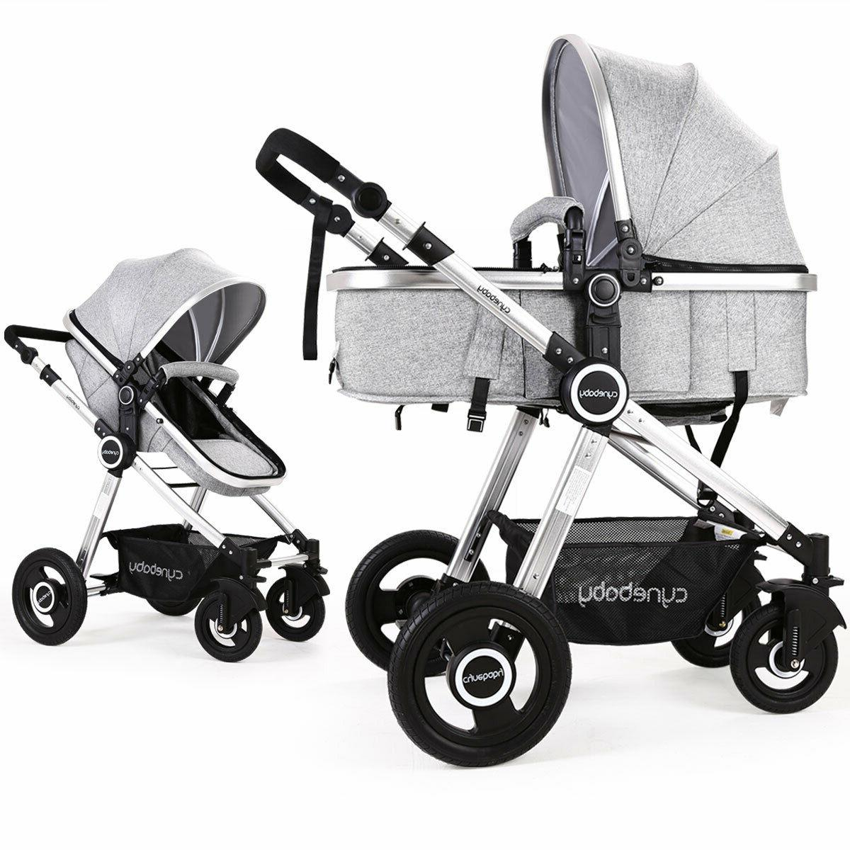 baby stroller 2 in 1 infant bassinet