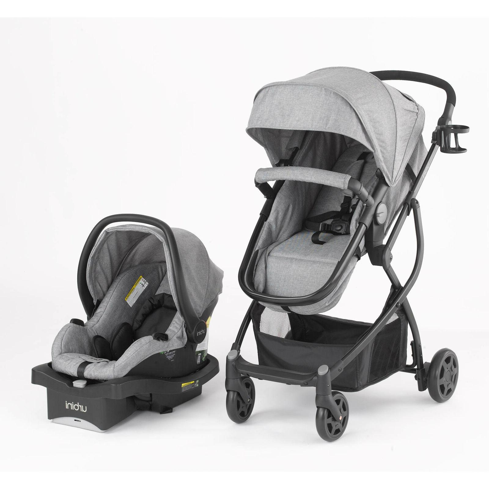 Baby Stroller Car Seat 3in1 Travel System Infant Buggy Carri